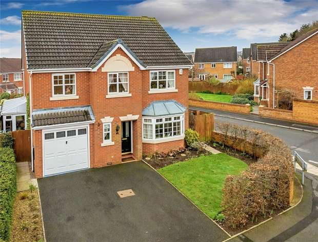 5 Bedrooms Detached House for sale in 2 Tom Morgan Close, Lawley Village, Telford, Shropshire