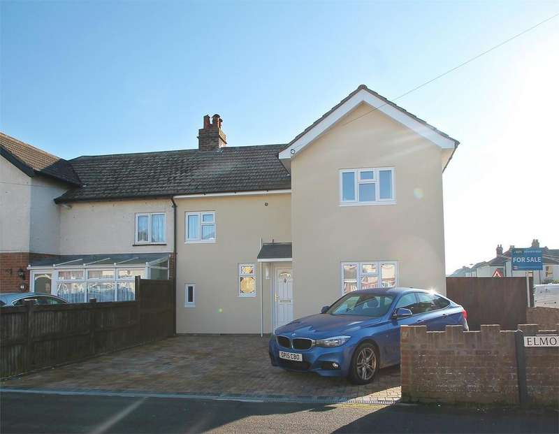 3 Bedrooms Semi Detached House for sale in Elmore Avenue, Lee-on-the-Solent, Hampshire