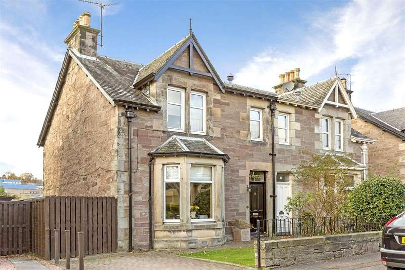 3 Bedrooms Semi Detached House for sale in 12 Spens Crescent, Perth, PH1