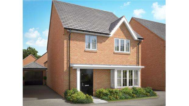 4 Bedrooms Detached House for sale in Hyde End Road, Reading, Berkshire