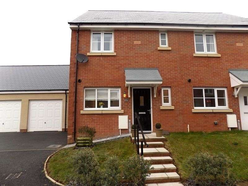 3 Bedrooms Semi Detached House for sale in Lon Yr Ardd , Coity, Bridgend. CF35 6EZ