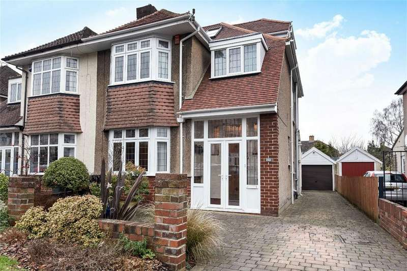 4 Bedrooms Semi Detached House for sale in Reedley Road, Westbury on Trym, Bristol