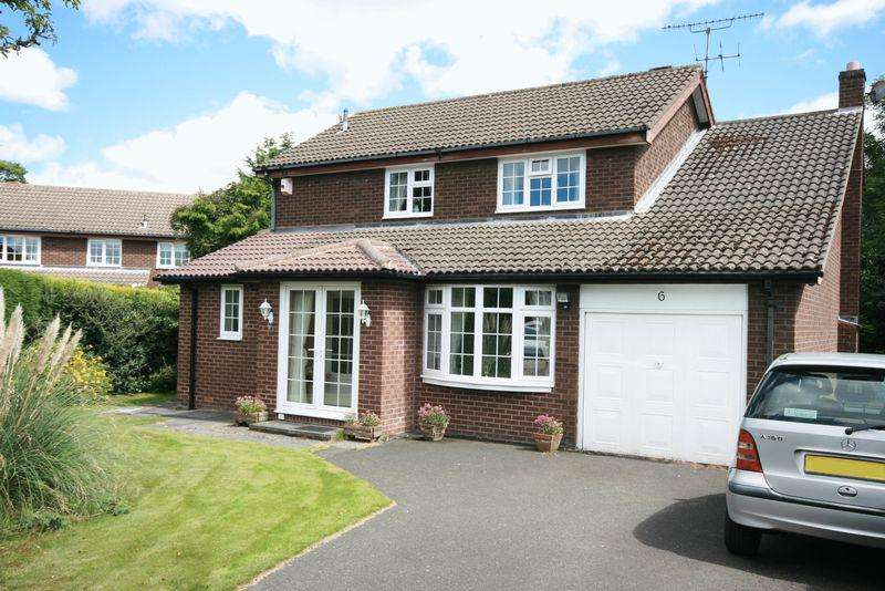 4 Bedrooms Detached House for sale in Westsyde, Darras Hall, Ponteland, Newcastle upon Tyne