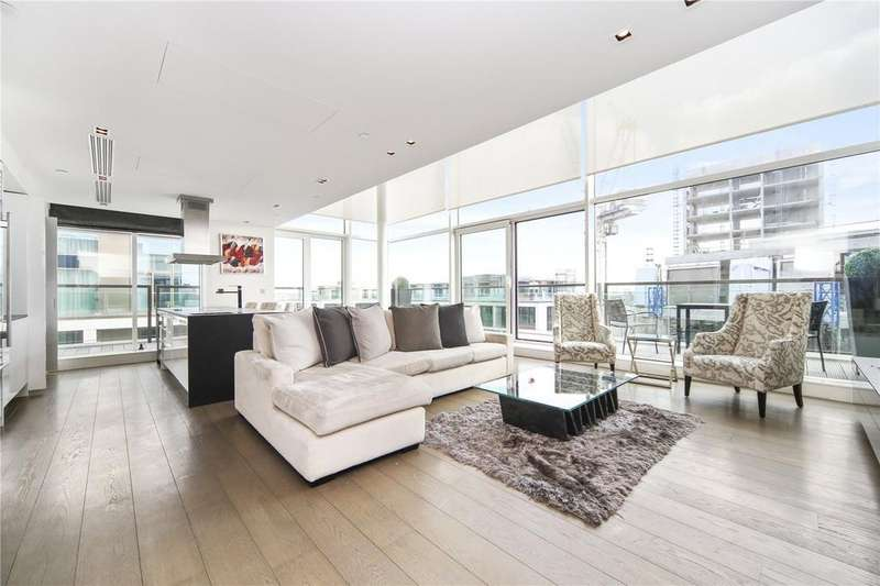 3 Bedrooms Penthouse Flat for sale in Wolfe House, Kensington High Street, Kensington, London, W14