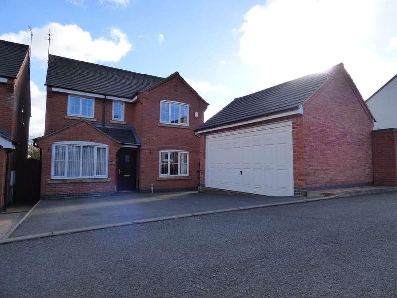 4 Bedrooms Detached House for sale in Parkers Close, Ellistown