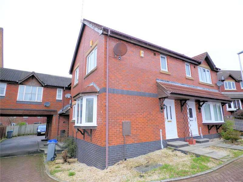 2 Bedrooms End Of Terrace House for sale in Teal Court, Herons Reach, Blackpool