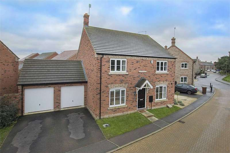 4 Bedrooms Detached House for sale in Hunts Field Drive, Gretton, Northamptonshire