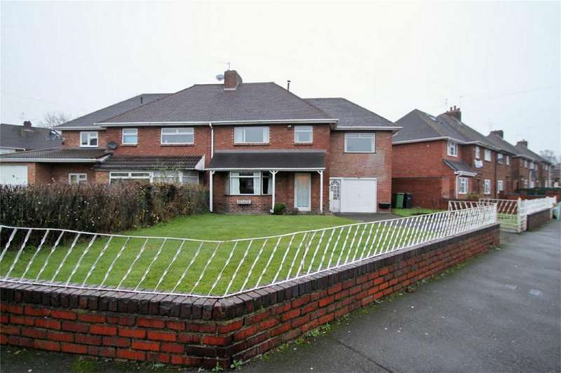 4 Bedrooms Semi Detached House for sale in Woodside Road, DUDLEY, West Midlands