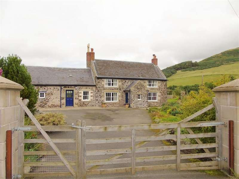 3 Bedrooms Detached House for sale in Town Yetholm, Kelso, Scottish Borders, Scotland