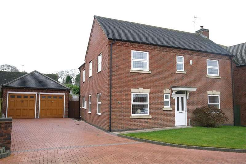 4 Bedrooms Detached House for sale in Peatling Grange, Ashby Magna, Lutterworth, Leicestershire
