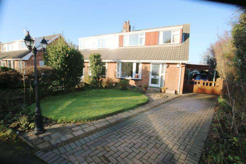 3 Bedrooms Semi Detached House for sale in Aldon Grove, Longton