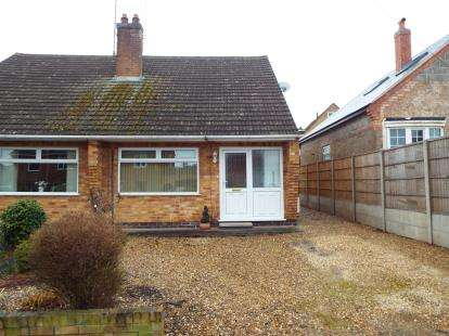 2 Bedrooms Bungalow for sale in Lena Drive, Groby, Leicester, Leicestershire