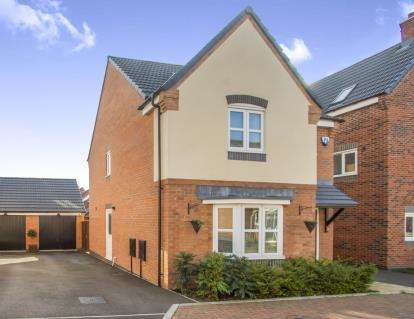 3 Bedrooms Detached House for sale in Arlington Close, Leicester, Leicestershire