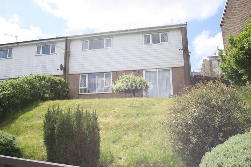 3 Bedrooms Semi Detached House for sale in Cefn Glas, Tredegar, Gwent