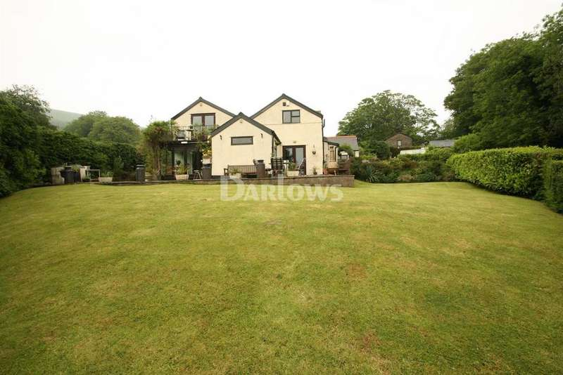 4 Bedrooms Detached House for sale in Mountain Road, Cwmbran