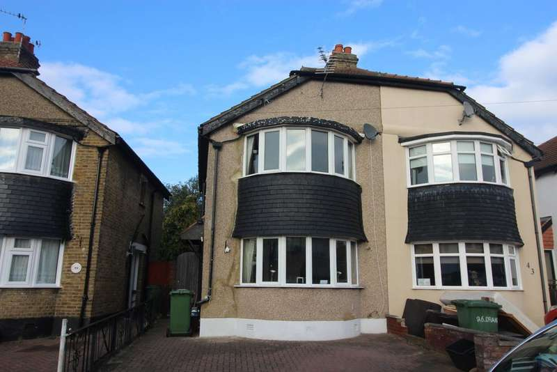 3 Bedrooms Semi Detached House for sale in Budleigh Crescent Welling DA16