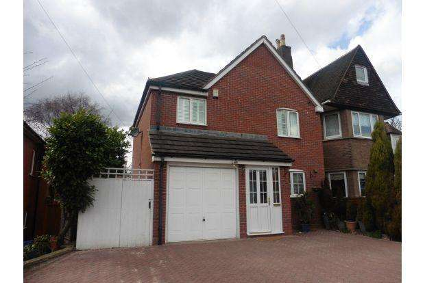 4 Bedrooms Detached House for sale in BIRMINGHAM ROAD, GREAT BARR