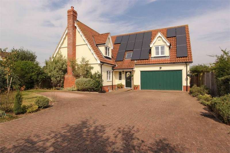 4 Bedrooms Detached House for sale in Pavilion Close, Banham, Norfolk