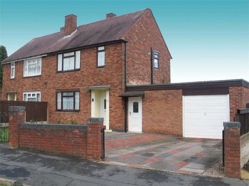 2 Bedrooms Semi Detached House for sale in Highfield Road, Wordsley, STOURBRIDGE, West Midlands