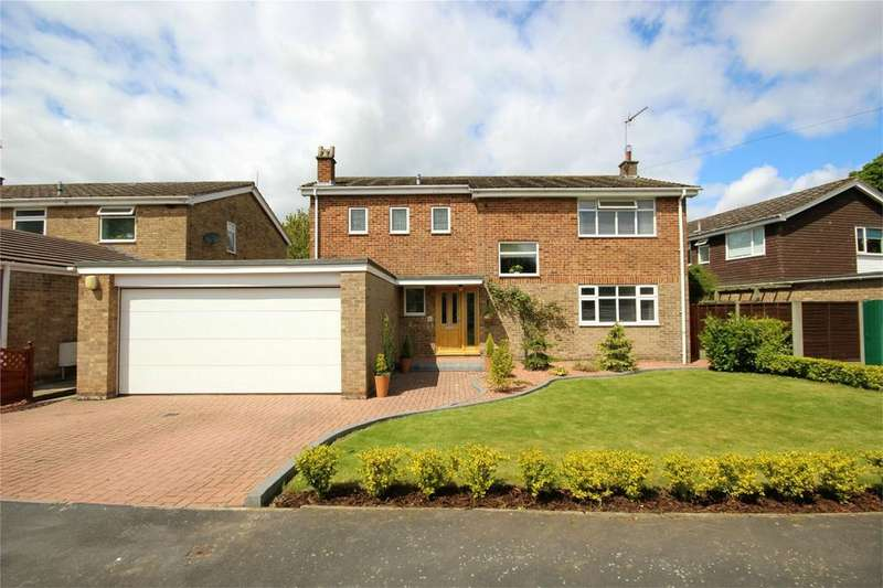 4 Bedrooms Detached House for sale in Westfield Garth, Walkington, East Riding of Yorkshire