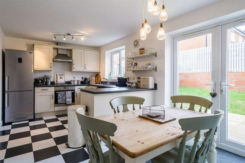 3 Bedrooms Detached House for sale in Clover Drive, WITHERNSEA, East Riding of Yorkshire