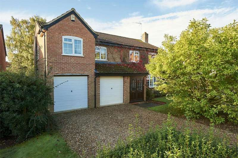 5 Bedrooms Detached House for sale in Westfield Close, Market Harborough, Leicestershire