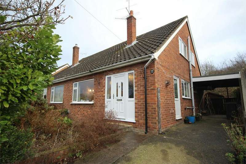 3 Bedrooms Semi Detached Bungalow for sale in Kingsway, Hope, Wrexham