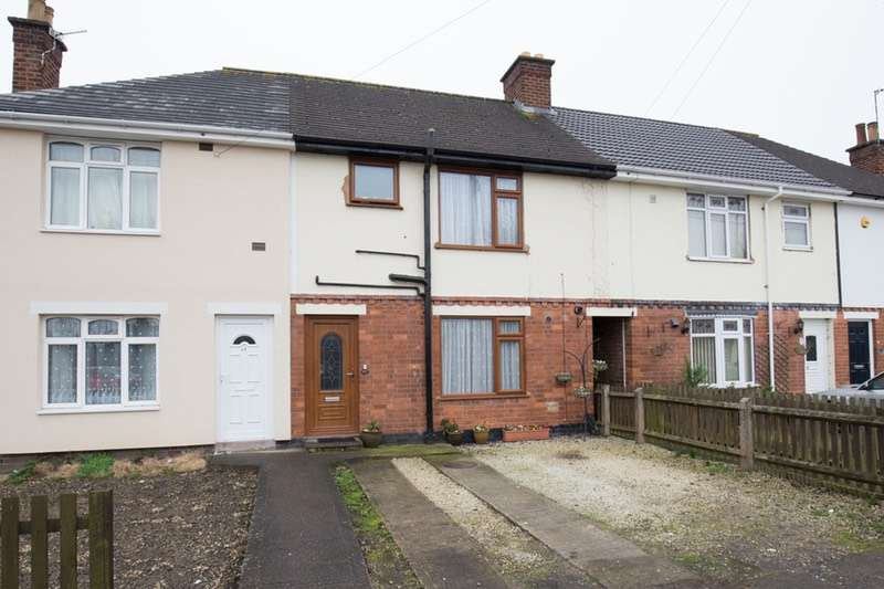 3 Bedrooms Terraced House for sale in Tudor Road, Hinckley, Leicestershire, LE10