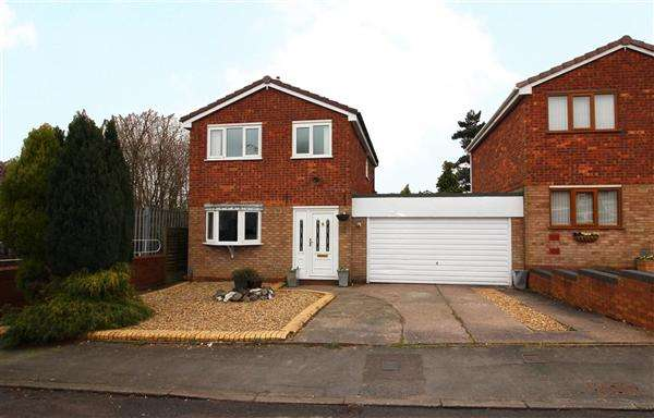 3 Bedrooms Detached House for sale in Aspen Grove, Burntwood