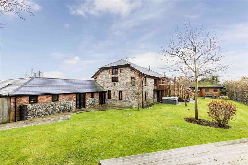 6 Bedrooms Detached House for sale in Merston, Near Chichester