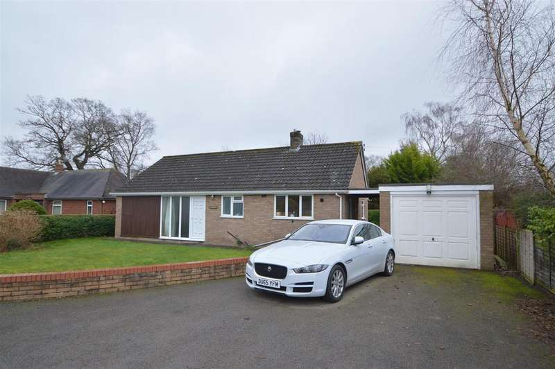 2 Bedrooms Detached Bungalow for sale in Hillberry, Oakfield Close, Shrewsbury, SY3 8AB