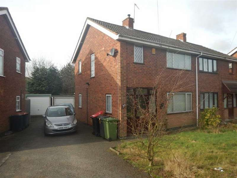 3 Bedrooms Semi Detached House for sale in Meadow Road, Nuneaton, Warwickshire, CV10