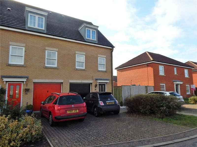 4 Bedrooms End Of Terrace House for sale in Windsor Park Gardens, Sprowston, Norwich