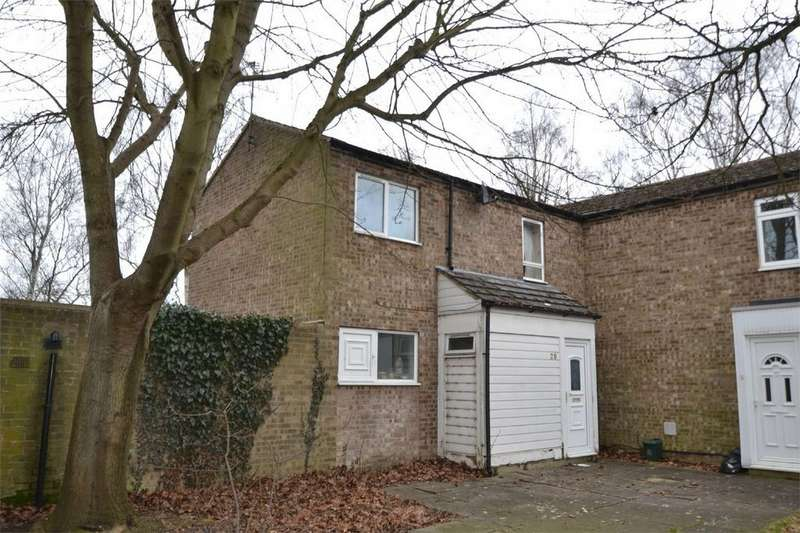 3 Bedrooms End Of Terrace House for sale in Kiel Walk, Corby, Northamptonshire