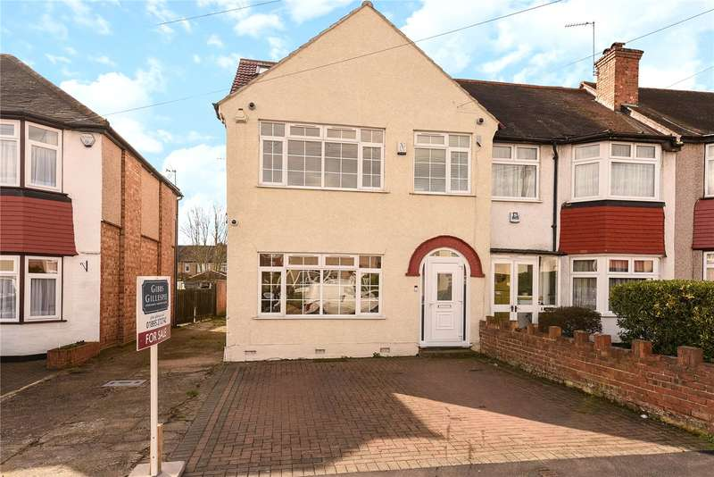 4 Bedrooms End Of Terrace House for sale in Richmond Avenue, Uxbridge, Middlesex, UB10