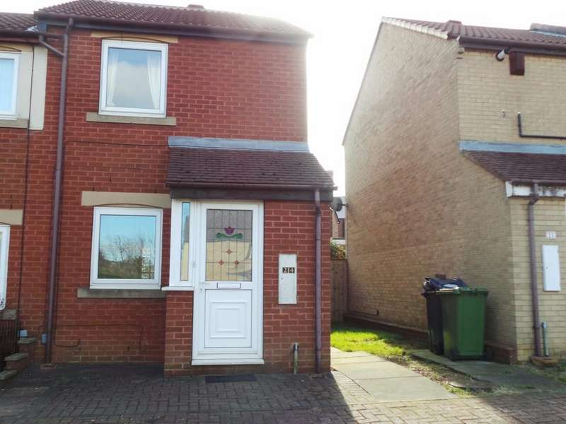 2 Bedrooms Terraced House for sale in Hawthorn Drive, Dunston, Gateshead NE11