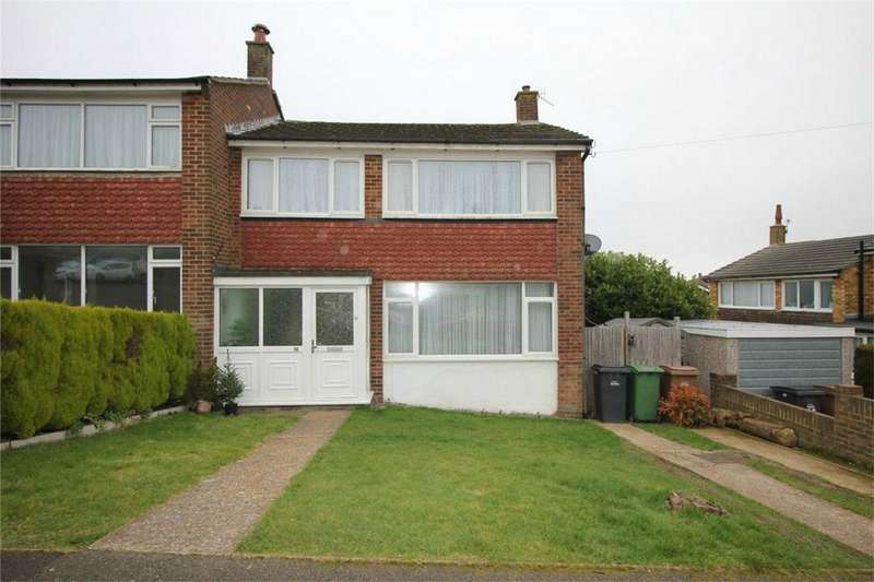3 Bedrooms Semi Detached House for sale in 14 Briers Gardens, HASTINGS, East Sussex