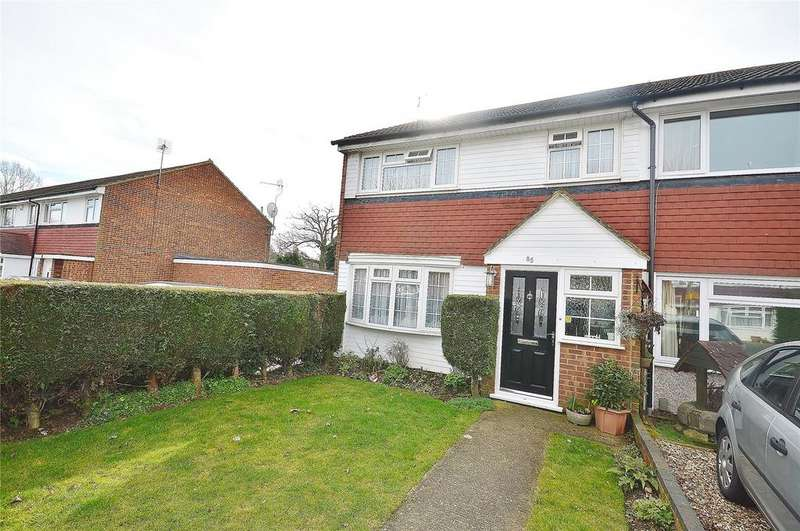 3 Bedrooms End Of Terrace House for sale in Haines Way, Leavesden, Hertfordshire, WD25