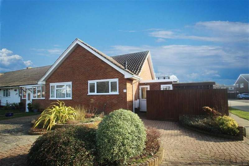 2 Bedrooms Semi Detached Bungalow for sale in Highdown Drive, Littlehampton, West Sussex