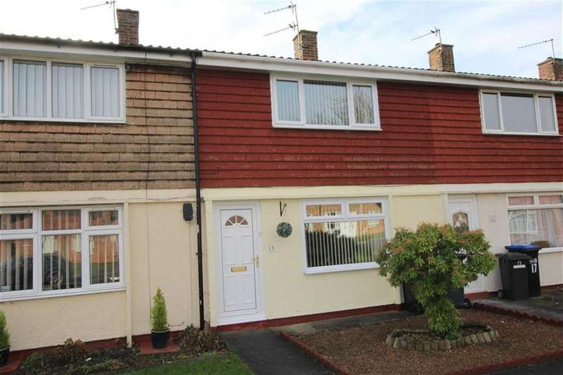 2 Bedrooms Terraced House for sale in Biscop Crescent, Newton Aycliffe, County Durham