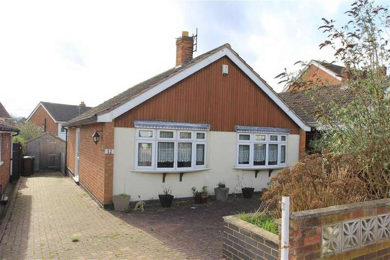 2 Bedrooms Bungalow for sale in Bencroft Close, Anstey, Leicestershire