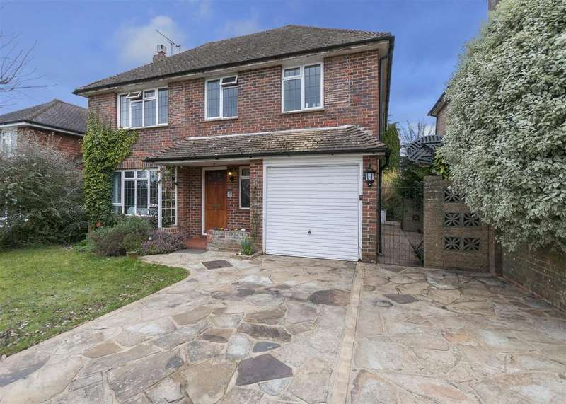 5 Bedrooms Detached House for sale in Mill Drive, Henfield