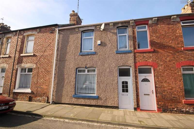 2 Bedrooms Terraced House for sale in Wharton Street, Hartlepool