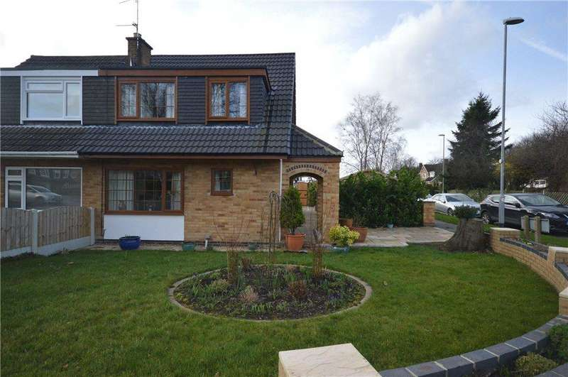 3 Bedrooms Semi Detached House for sale in High Ash Avenue, Leeds, West Yorkshire