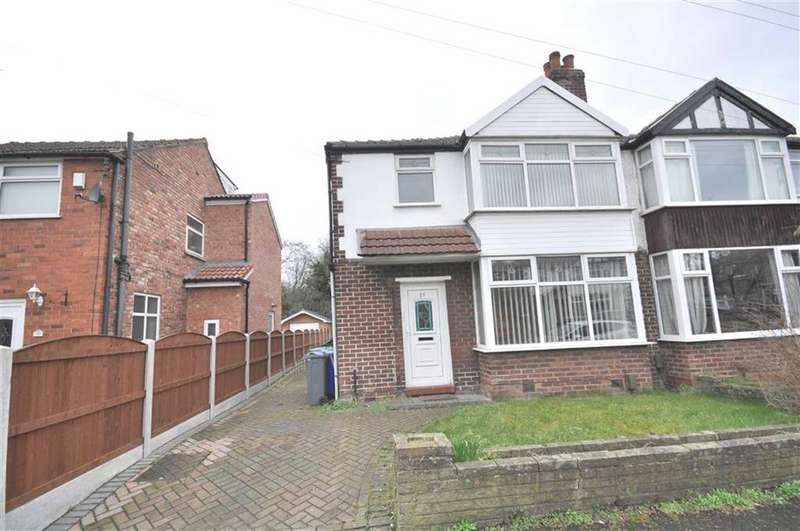 3 Bedrooms Semi Detached House for sale in Saddlewood Avenue, Didsbury, Manchester, M19