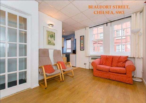 Studio Flat for sale in Winchester House Beaufort Street, London, SW3
