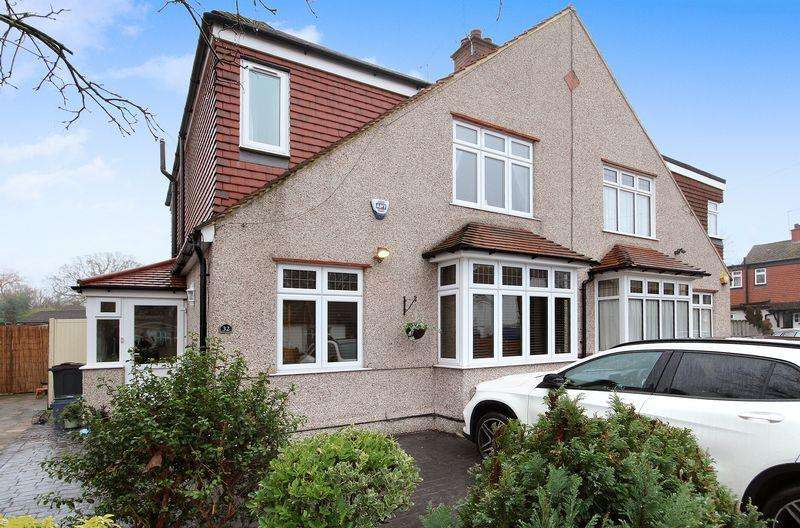 3 Bedrooms Semi Detached House for sale in Firsby Avenue, Shirley