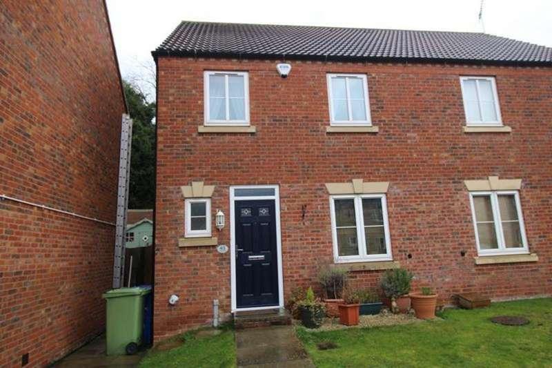 3 Bedrooms Semi Detached House for sale in 43 Kensington Way, Worksop