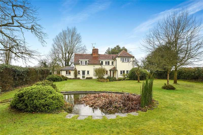 4 Bedrooms Detached House for sale in Holbrook, Ipswich, IP9