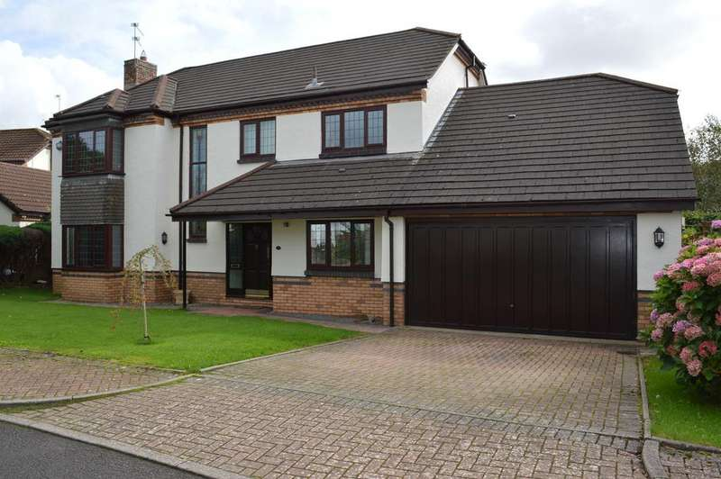 5 Bedrooms Detached House for sale in The Larches, Ystradowen, Cowbridge CF71